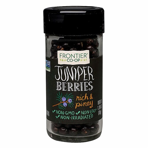 Frontier Natural Products Whole Juniper Berries Perspective: front