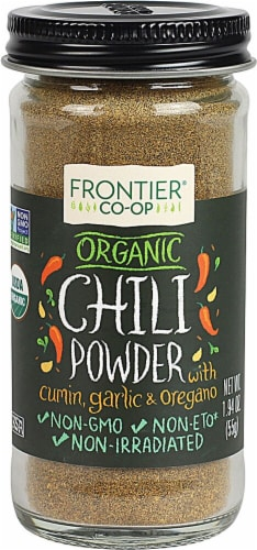 Frontier  Co-Op Organic Chili Powder Perspective: front