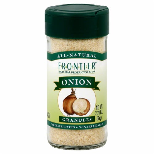 Frontier Onion Granules Perspective: front