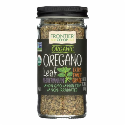 Frontier Organic Oregano Leaf Flakes Perspective: front