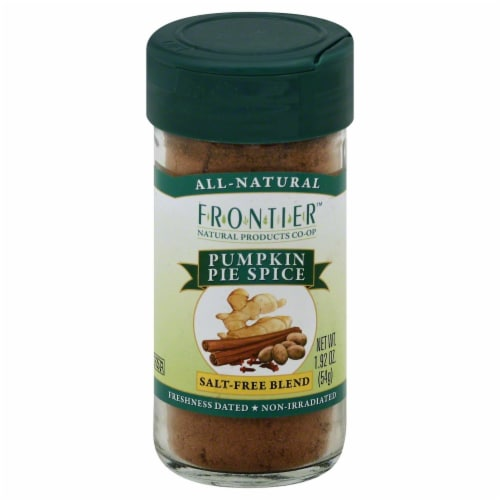 Frontier Pumpkin Pie Spice Salt-Free Blend Perspective: front