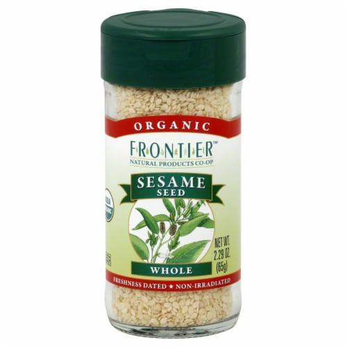 Frontier Organic Whole Sesame Seed Perspective: front