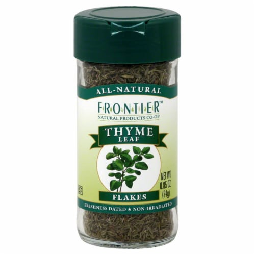 Frontier Thyme Leaf Flakes Perspective: front