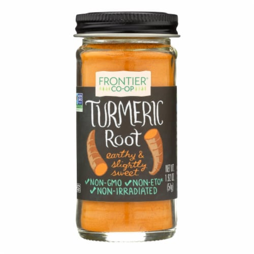 Frontier Ground Turmeric Root Perspective: front