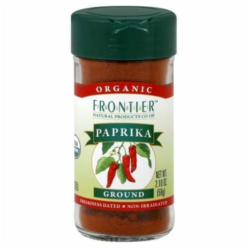 Frontier Organic Ground Paprika Perspective: front