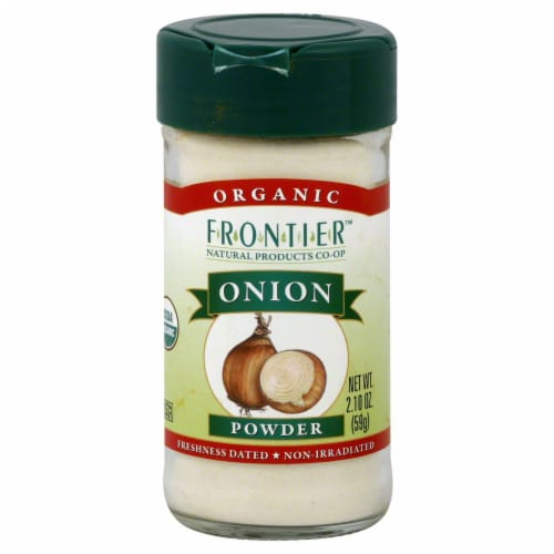 Frontier Organic Onion Powder Perspective: front