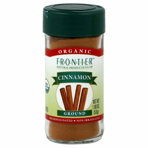 Frontier Organic Ground Cinnamon Perspective: front