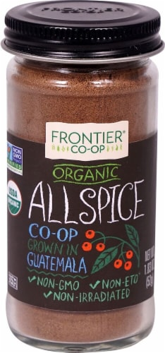 Frontier  Co-Op Organic Allspice Perspective: front