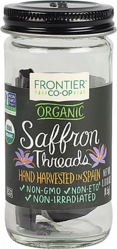 Frontier  Co-op Organic Saffron Threads Perspective: front