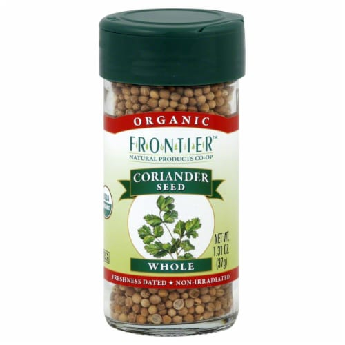 Frontier Organic Whole Coriander Seed Perspective: front