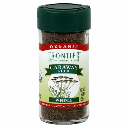 Frontier Organic Caraway Seeds Perspective: front