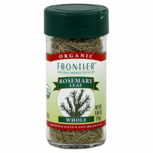 Frontier Organic Whole Rosemary Leaf Perspective: front
