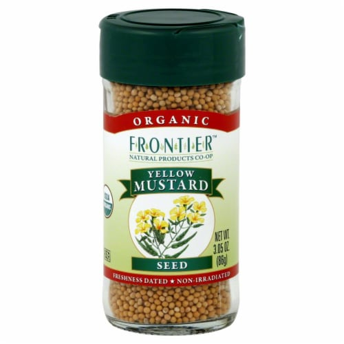 Frontier Organic Yellow Mustard Seed Perspective: front
