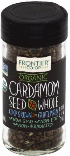 Frontier Organic Whole Cardamom Seed Perspective: front