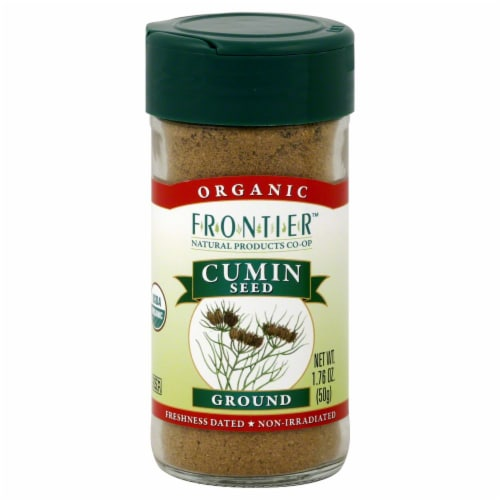 Frontier Organic Ground Cumin Seed Perspective: front