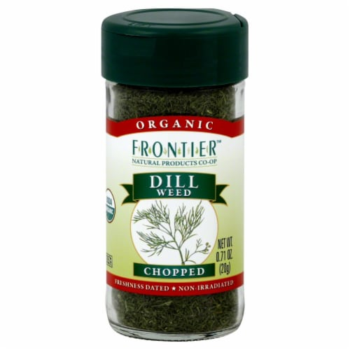 Frontier Organic Chopped Dill Weed Perspective: front