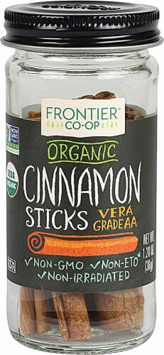 Frontier  Co-Op Organic Cinnamon Sticks Perspective: front