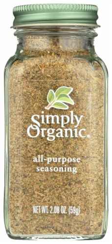 Simply Organic All-Purpose Seasoning Perspective: front