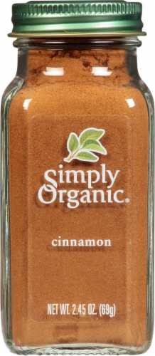 Simply Organic Cinnamon Perspective: front