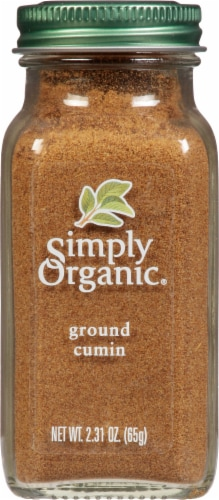 Simply Organic Cumin Perspective: front