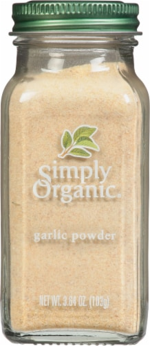 Simply Organic® Garlic Powder Perspective: front