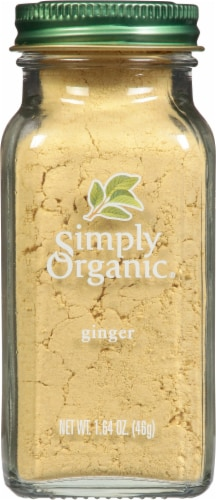 Simply Organic Ginger Perspective: front