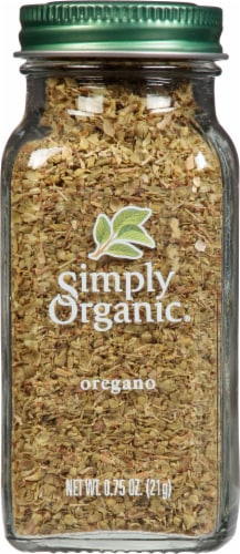 Simply Organic® Oregano Perspective: front