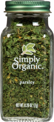 Simply Organic Parsley Perspective: front