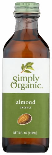 Simply Organic Almond Extract Perspective: front