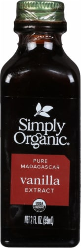 Simply Organic Madagascar Pure Vanilla Extract Perspective: front