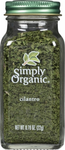 Simply Organic Cilantro Perspective: front