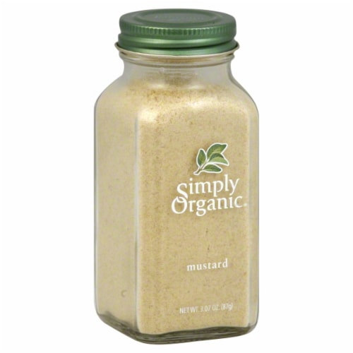 Simply Organic Ground Mustard Seed Perspective: front