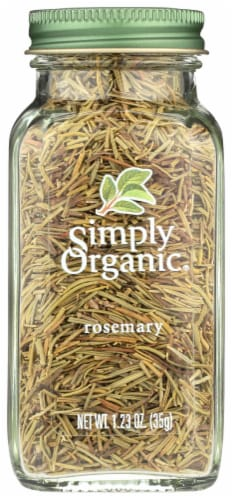 Simply Organic Rosemary Perspective: front