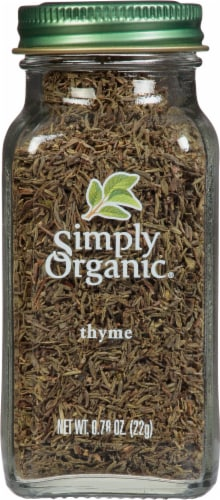 Simply Organic Thyme Perspective: front