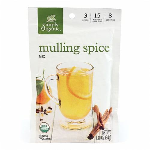 Simply Organic Mulling Spice Mix Perspective: front