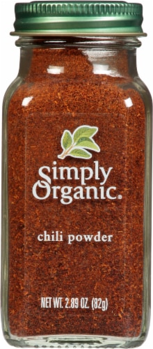 Simply Organic Chili Powder Perspective: front