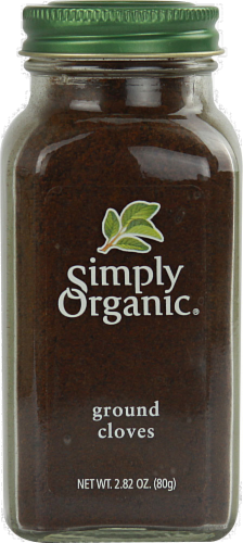 Simply Organic Ground Cloves Perspective: front