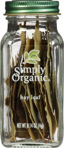 Simply Organic Bay Leaf Perspective: front