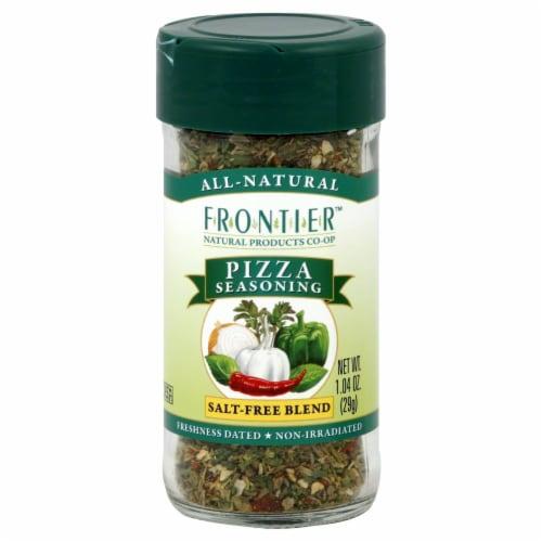 Frontier Pizza Seasoning Perspective: front