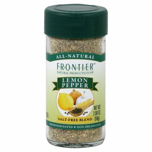Frontier Lemon Pepper Salt-Free Blend Perspective: front