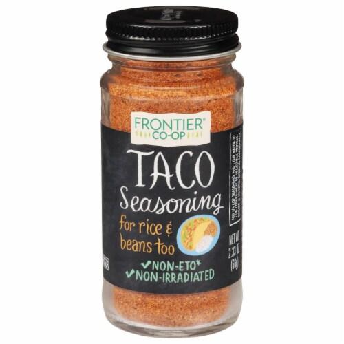 Frontier Taco Seasoning Salt-Free Blend Perspective: front