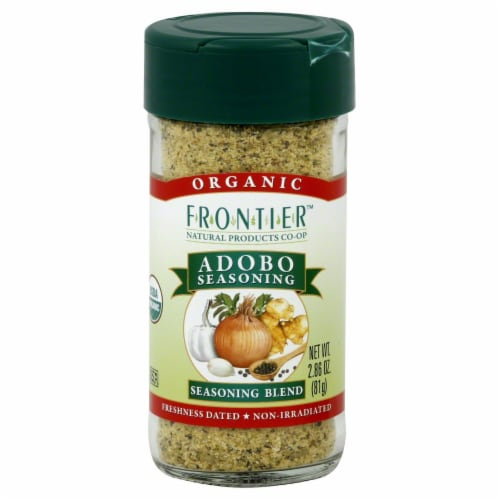 Frontier Organic Adobo Seasoning Perspective: front