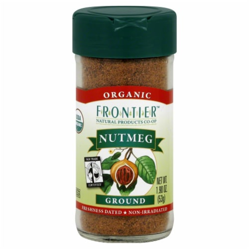 Frontier Organic Ground Nutmeg Perspective: front