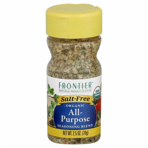 Frontier Organic All-Purpose Seasoning Blend Perspective: front