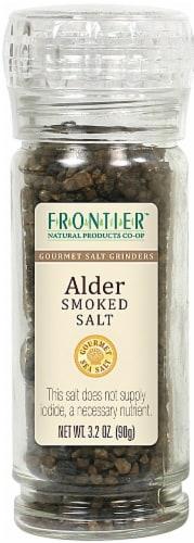 Frontier Alder Smoked Salt Grinder Perspective: front