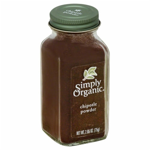 Simply Organic Chipotle Powder Perspective: front
