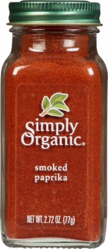 Simply Organic Smoked Paprika Perspective: front