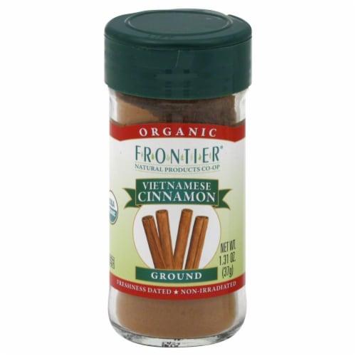 Frontier Organic Ground Vietnamese Cinnamon Perspective: front