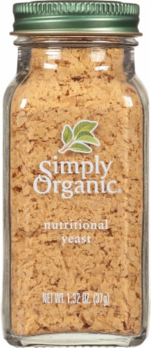 Simply Organic  Nutritional Yeast Perspective: front