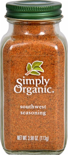 Simply Organic Southwest Seasoning Perspective: front